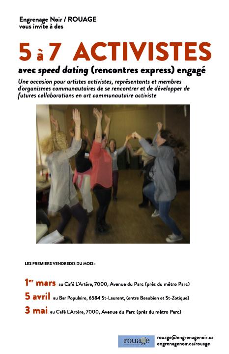 Engrenage - Affiche 5 à 7 (Feb 2013)