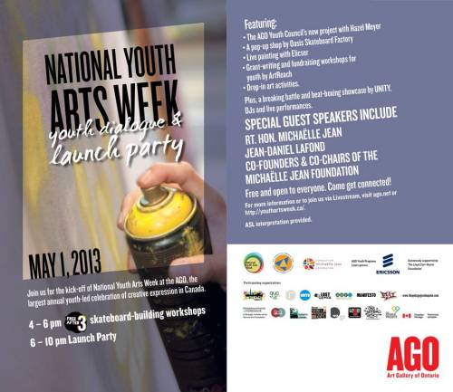 National Youth Arts Week Launch